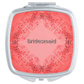 Bridesmaid-La-Magical-Orange-Lace-Multi- Shapes Makeup Mirrors