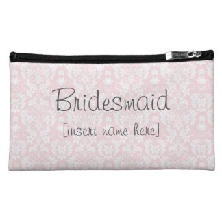 Bridesmaid Make Up Bag Cosmetic Bags
