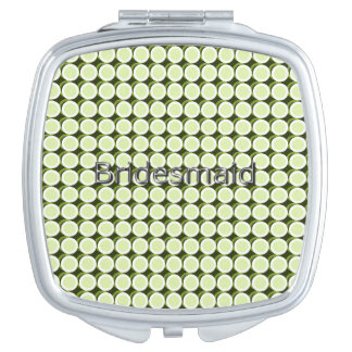Bridesmaid-MOD-DOT'S-Pale-Green-Multi- Shapes Vanity Mirror