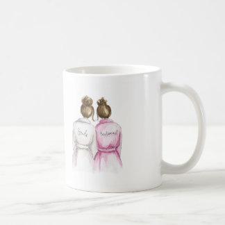 Bridesmaid? Mug Brunette Bride Brunette Maid