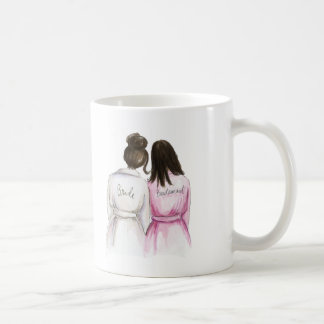 Bridesmaid? Mug Dk Br Bride Bun Dk Br Down Maid