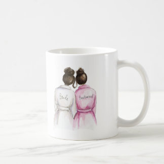 Bridesmaid Mugs from Zazzle.