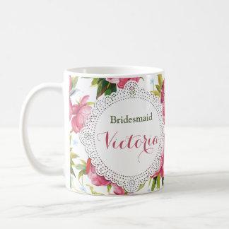 Bridesmaid Mug, Maid of Honor gift, Wedding Mugs