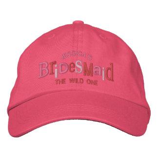 Bridesmaid Party Wedding Gift Embroidered Baseball Caps