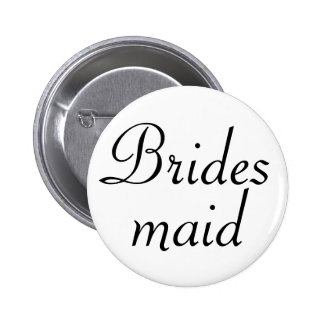 Bridesmaid Pinback Button