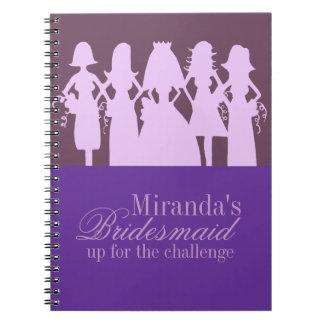 Bridesmaid Planner Notebook