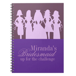 Bridesmaid Planner Notebooks