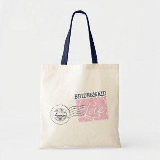 Bridesmaid Postal Service Collection Tote