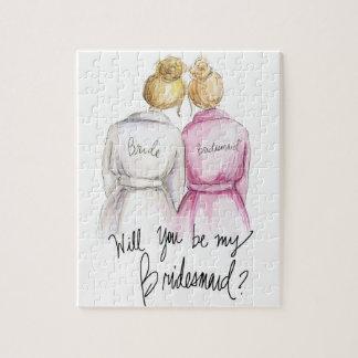 Bridesmaid? Puzzle Bl Bun Bride Bl Bun Maid