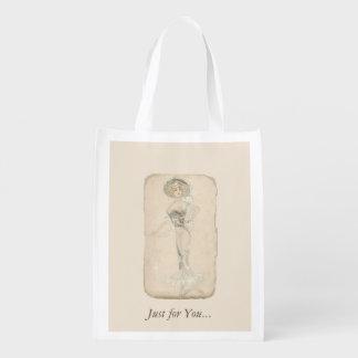 Bridesmaid Reusable Shopping Bag