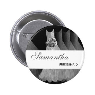 BRIDESMAID Silver Gowns F200A Pin