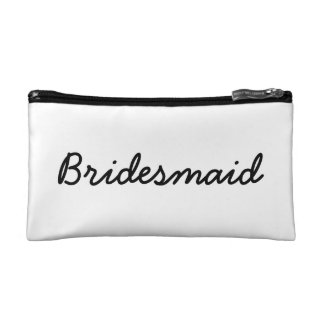 Bridesmaid Simple Wristlet