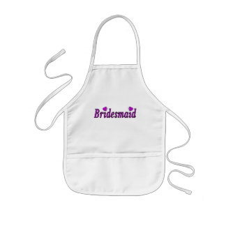 Bridesmaid Simply Love Kids Apron
