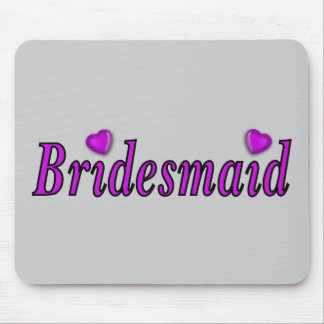 Bridesmaid Simply Love Mousepads