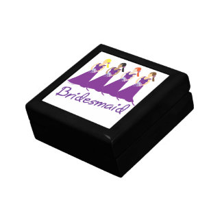 Bridesmaid Small Square Gift Box