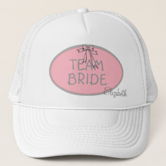 Bridesmaid-Team Bride- Personalized Trucker Hat