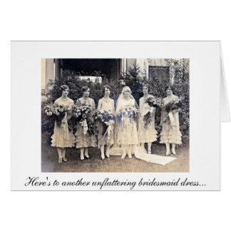 Bridesmaid Thank You Card2 Card