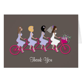 Bridesmaid Thank You Greeting Card Greeting Cards