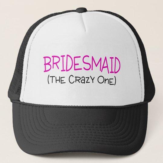 Bridesmaid The Crazy One Cap