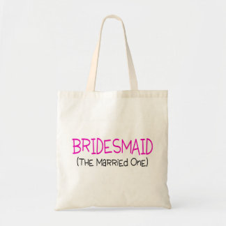 Bridesmaid The Married One Tote Bags