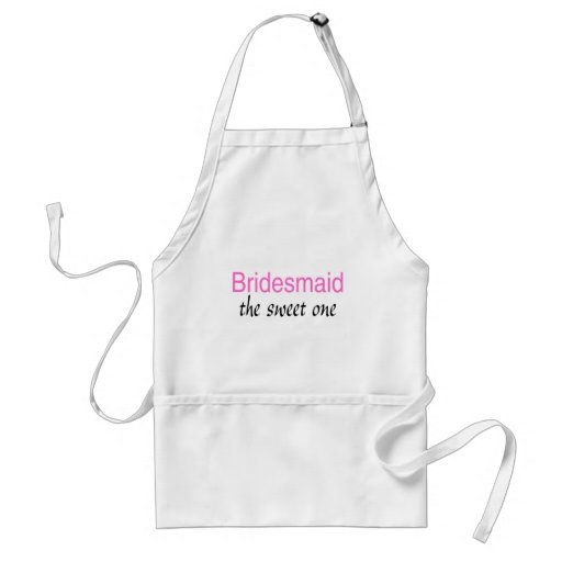 Bridesmaid (The Sweet One) Aprons