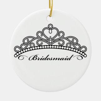 Bridesmaid Tiara Ornament