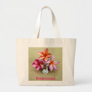 Bridesmaid Tote Bag for Beach Wedding