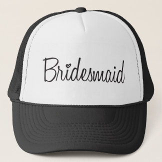 Bridesmaid Trucker Hat