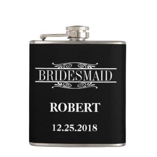 Bridesmaid Wedding Hip Flask