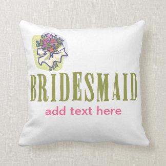 Bridesmaid Wedding party Cushions