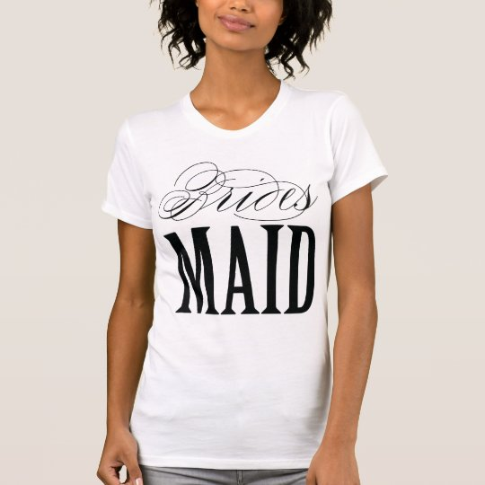 BRIDESMAID | WEDDING T-SHIRT