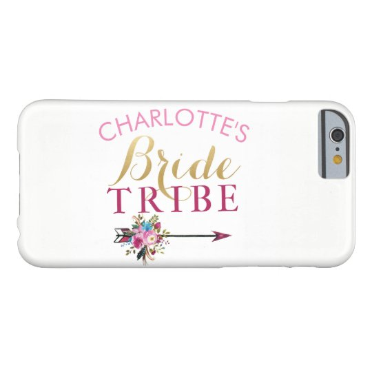 Bridesmaids iPhone Case Mrs Wedding Bride Tribe