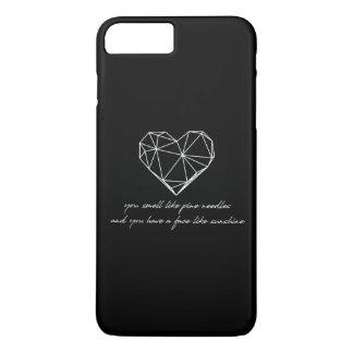 Bridesmaids Quote - Pine Needles + Sunshine iPhone 8 Plus/7 Plus Case