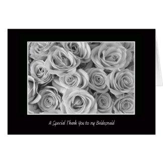 Bridesmaids Thank You Card