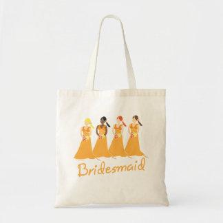 Bridesmaids Totebag Budget Tote Bag
