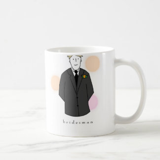 Bridesman Coffee Mug