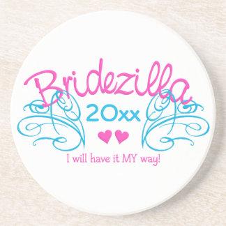 Bridezilla ANY year custom coaster