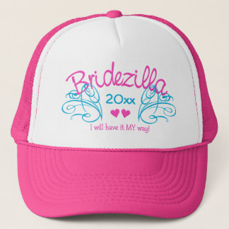 Bridezilla ANY year custom hat