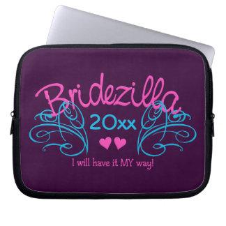 Bridezilla ANY year custom laptop sleeve