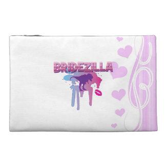 bridezilla bachelorette wedding bridal shower travel accessory bags
