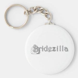 ♥ Bridezilla ♥ Basic Round Button Key Ring