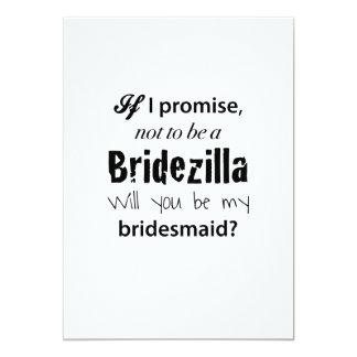 Bridezilla - Bridesmaid Invitation