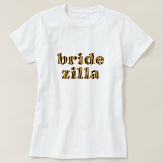Bridezilla | Fun Tigerprint T-Shirt