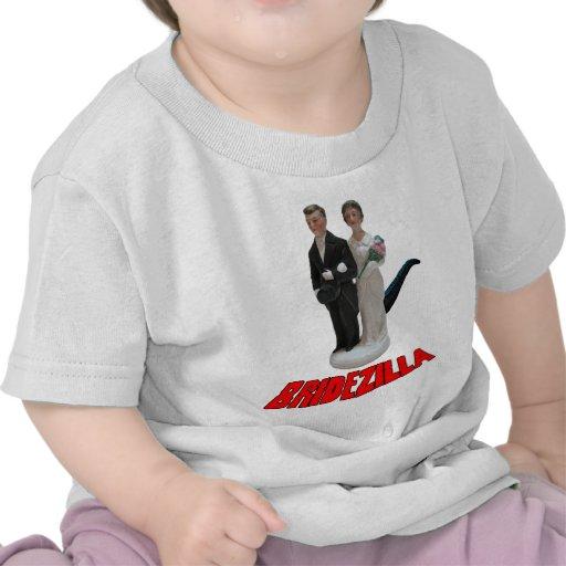 Bridezilla Funny Wedding T-Shirt or Hat