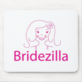 bridezilla mouse mat