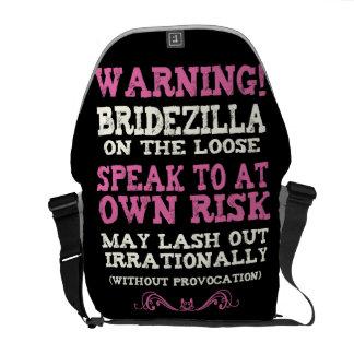 Bridezilla On The Loose Messenger Bag