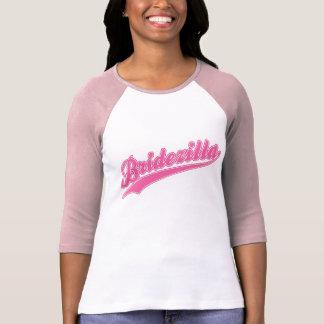 Bridezilla Pink Baseball Tee