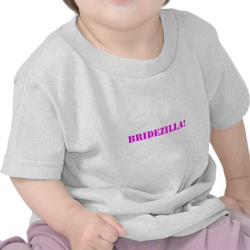 Bridezilla pink shirt