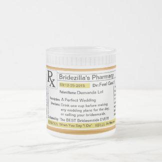 Bridezilla Prescription RX Coffee Mug