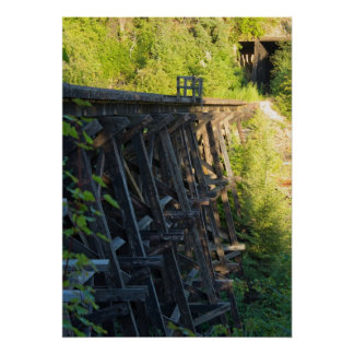 Bridge 23.2 and Tunnel 5 Side View (20x28 poster)